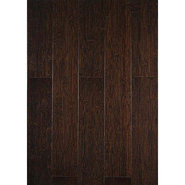 Installing 5 8 Inch Bamboo Flooring: Burnt Mocha 5/8-inch Bamboo Hardwood Floor (23.8 SF