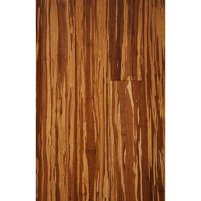 Shop Zebrano Charred 05 Inch Bamboo Hardwood Floor 2269 Sf