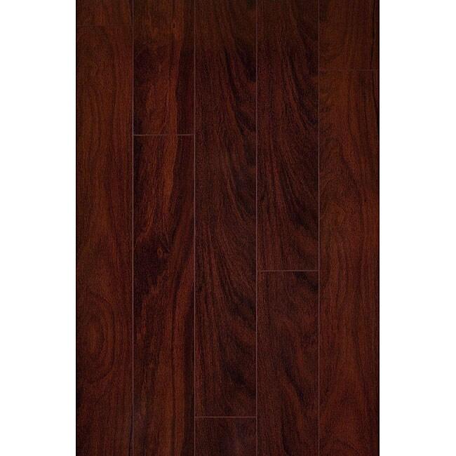 Shop Santos Mahogany 12 Mm Laminate Flooring 197 Sf Free