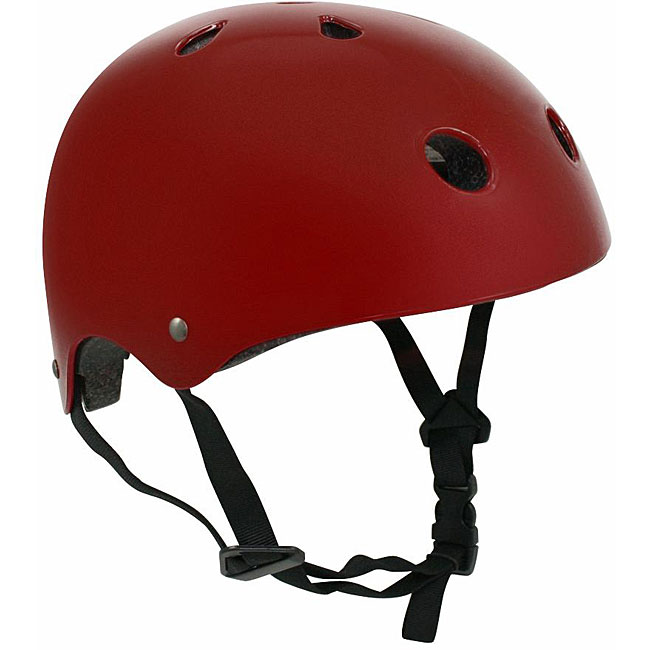 Universal Adult Large Red Sport Helmet