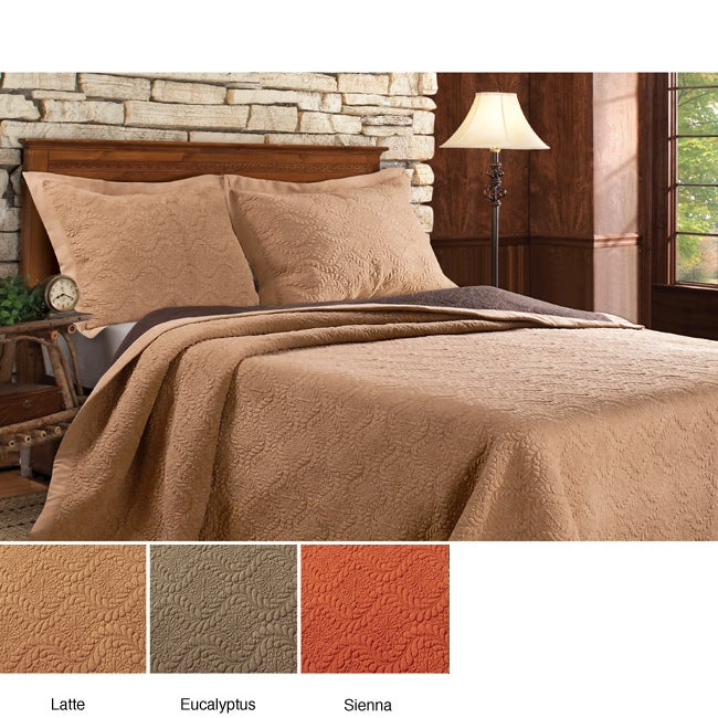 Greenland Home Fashions Kingston 3-piece Bedspread Set