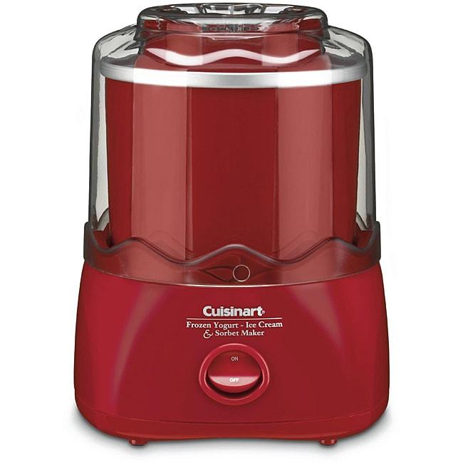 Cuisinart ICE-20R 1.5-quart Automatic Ice Cream/ Frozen Yogurt Maker (Refurbished)