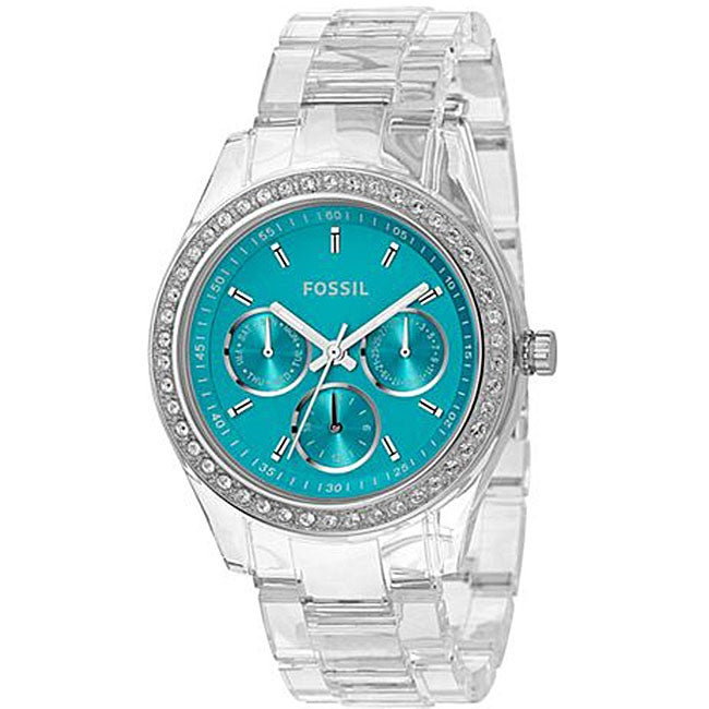 Fossil Women's 'Stella' Turquoise Dial Watch