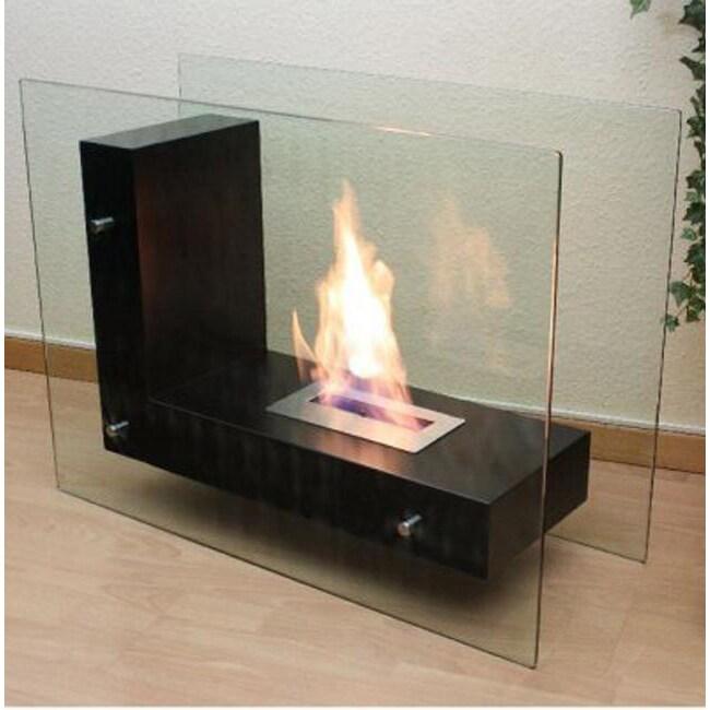 Gala Black Free-standing Bio-ethanol Fireplace