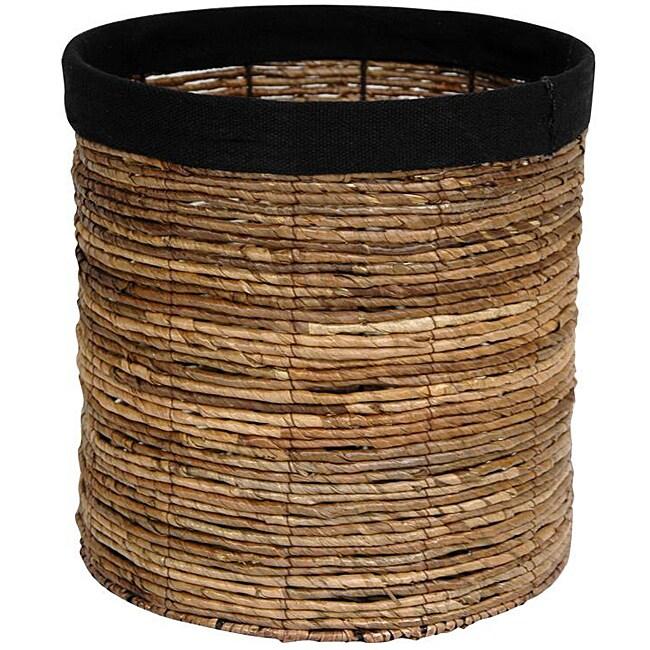 Banana Leaf 13-inch Woven Basket (China)