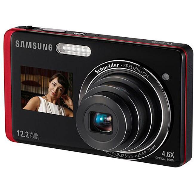 Samsung DualView TL220 12.2MP Digital Camera (Refurbished)