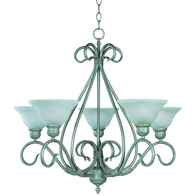 Savoy House Piedmont 5-light Pewter Finish Chandelier