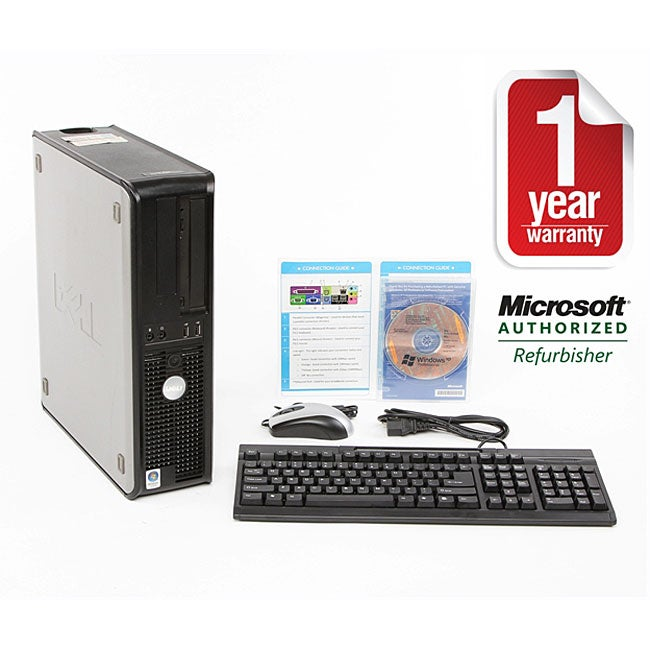 Dell GX620 2.8GHz 80GB XP Desktop Computer (Refurbished) - Thumbnail 0