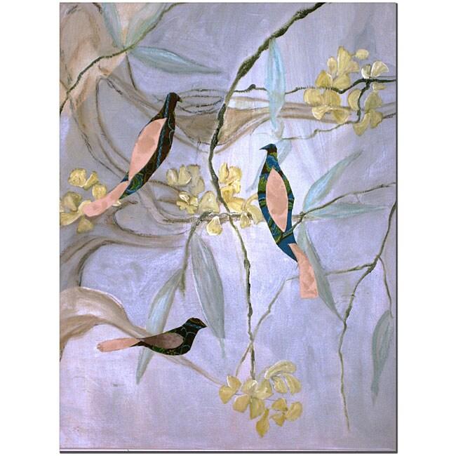 Kate Walsh 'Sounds' Canvas Art