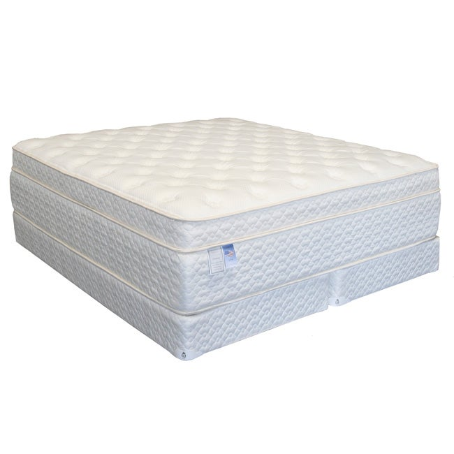 Serenity Euro-Memory 18-inch Twin-size Mattress Set