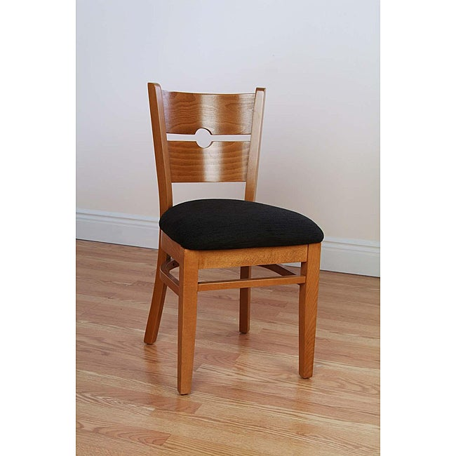 Coin Back Cherry Chairs (Set of 2)