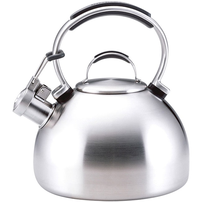 Kitchenaid Tea Kettle ~ Shop kitchenaid brushed stainless steel quart tea kettle