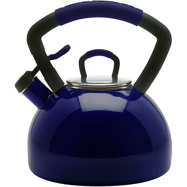 KitchenAid Midnight Blue Whistling 2.25-quart Tea Kettle