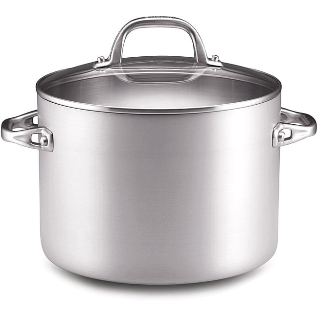 Anolon 8-quart Chef Clad Covered Stockpot