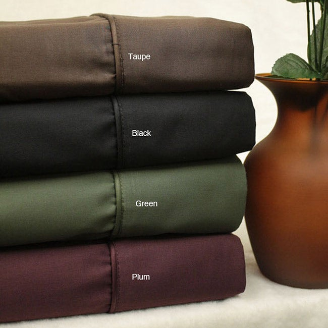 Max Collection 500 Thread Count Solid Sheet Set
