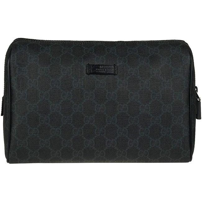 dfa1f22b226 Shop Gucci GG Plus Grey Toiletry Case - Free Shipping Today - Overstock -  5093189