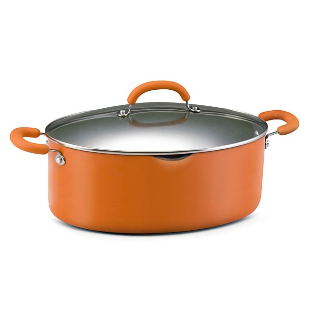 Rachael Ray 8 quart Orange Covered Pasta Etc. Pot   12948331