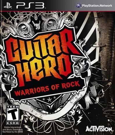 PS3 - Guitar Hero: Warriors of Rock
