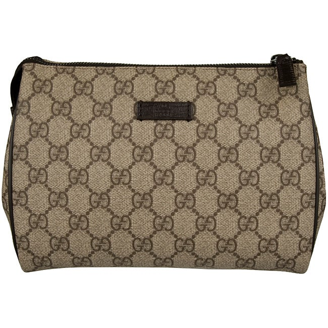 2810f30219c2 Shop Gucci GG Plus Toiletry Bag - Free Shipping Today - Overstock - 5095665