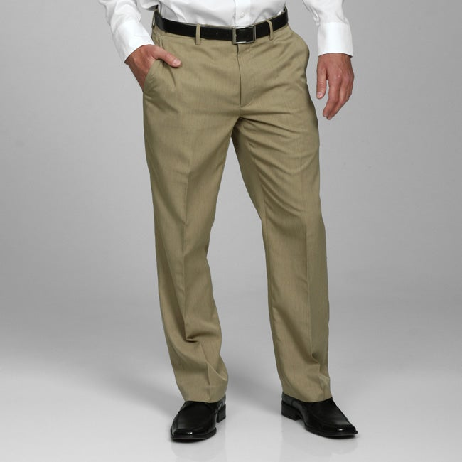 Perry Ellis Men's Khaki Dress Pants - Free Shipping On Orders Over ...