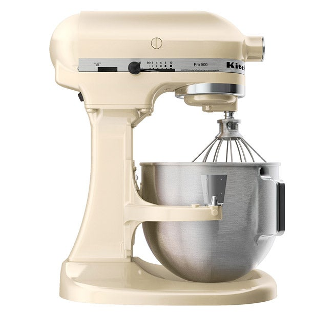Shop KitchenAid RKSM500AC Almond Cream Pro 500 5 Quart Mixer (Refurbished)    Free Shipping Today   Overstock.com   5100933