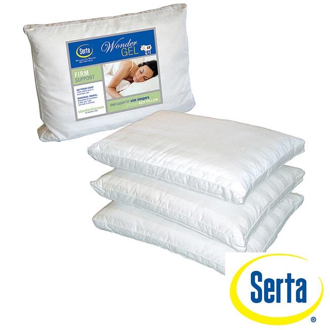 Serta WonderTouch Medium Density Jumbo Pillow (Set of 2)