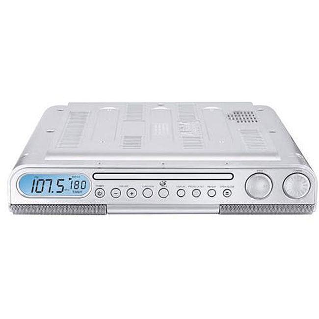 Kitchen Cabinet Radio Cd Player: Shop GPX KC218 Under-cabinet CD Player Clock Radio