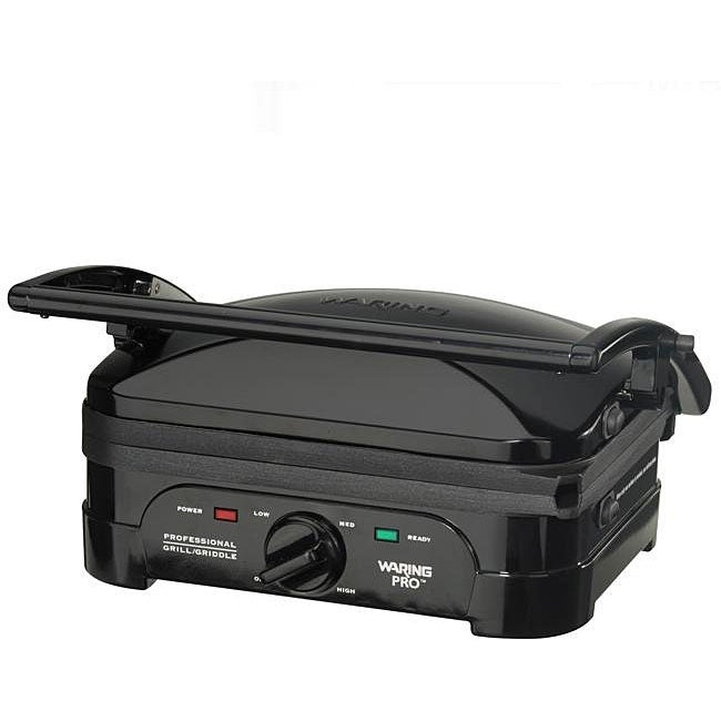 Waring Pro WGG500BKQ Black Electric Indoor Grill and Griddle