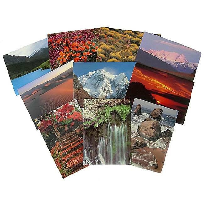 Set of 10 Natural Light Greeting Cards (Nepal)