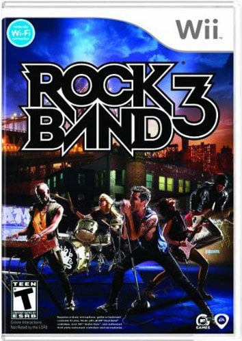 Wii - Rock Band 3 - By MTV Games