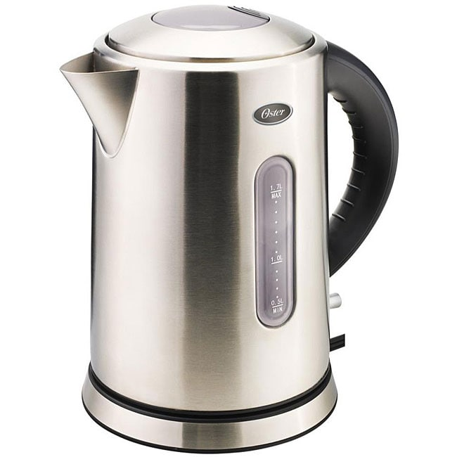 Oster Stainless Steel 1.7-Liter Cordless Electric Kettle