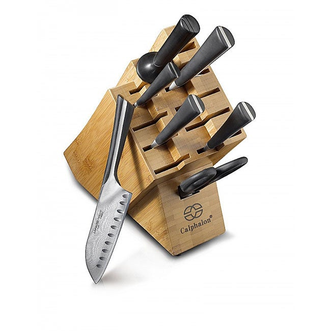 Calphalon Katana Stainless Steel 8 Piece Knife Set With