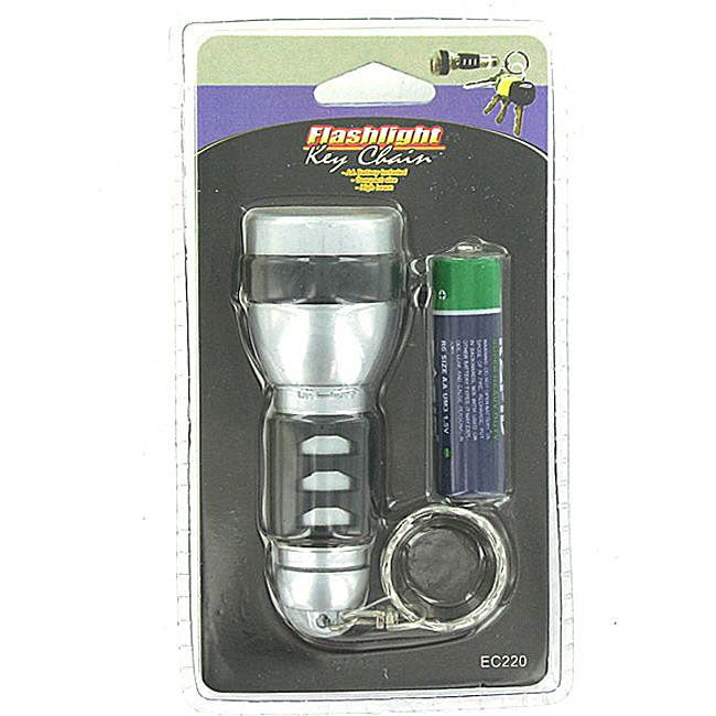 Keychain Flashlight with AA Battery (Case of 144)