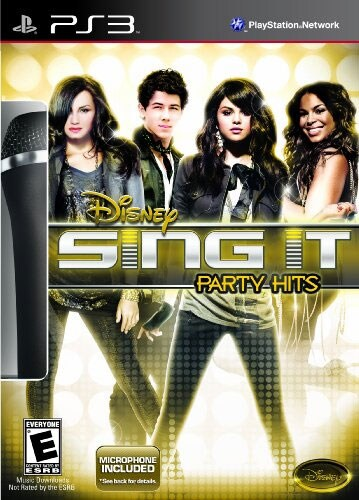 PS3 - Disney Sing It: Party Hits (Game & Microphone)