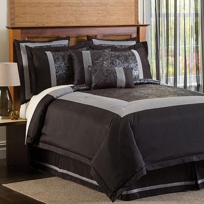 Lush Decor Croc 8-piece Comforter Set