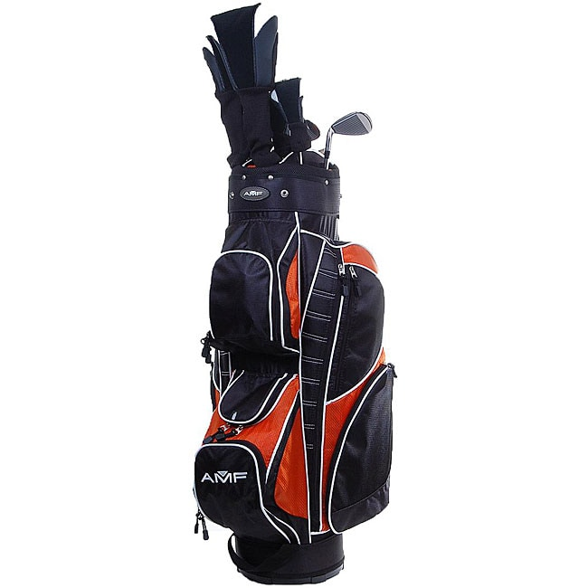 Amf Sequence 18 Piece Complete Men S Golf Club Set Free