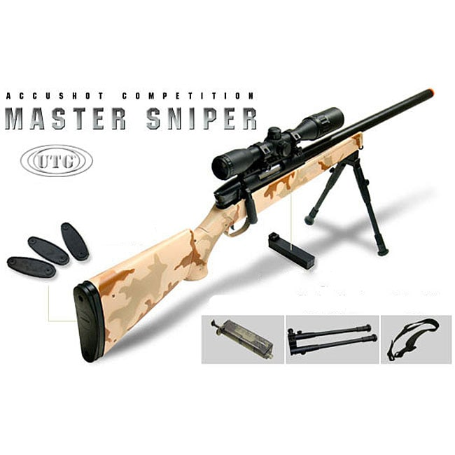 UTG 700 Pro Generation 5 Bolt Action Spring Powered Airsoft Sniper Rifle