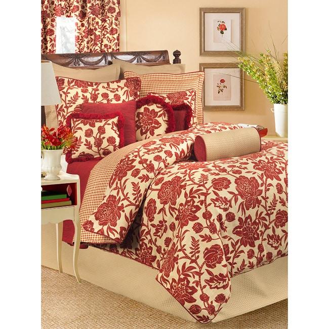 Rose Tree Cannes 4-piece Reversible Comforter Set