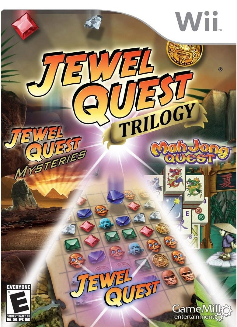 Wii - Jewel Quest Trilogy - By Game Mill
