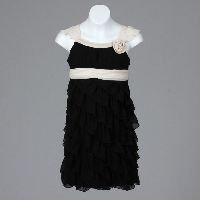 Hype Big Girls&-39- Sleeveless Ruffle Tiered Dress - Free Shipping On ...