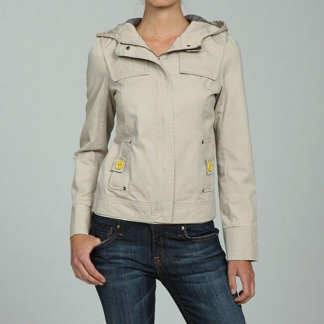 Canvas Santa Fe >> Santa Fe Apparel Women S Hooded Canvas Jacket