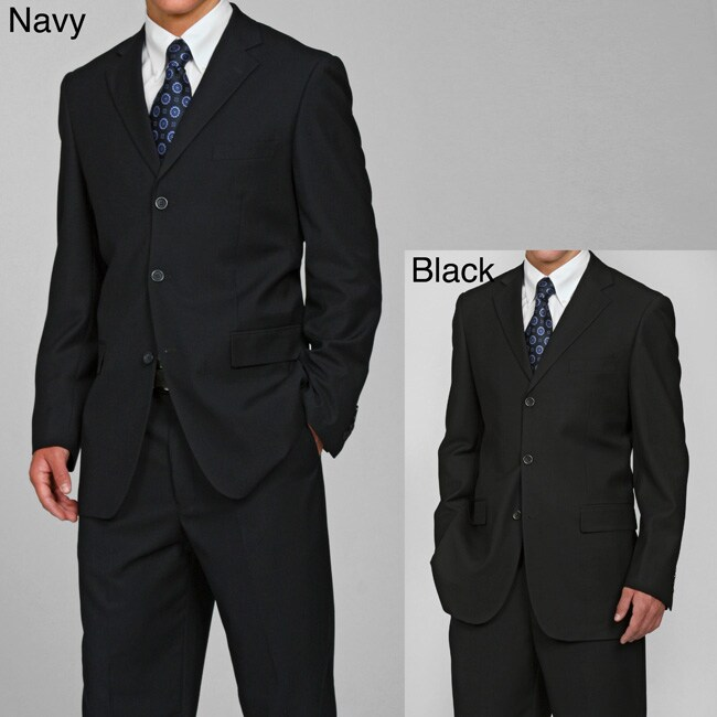 Eddie Domani Elite Men's 3-button Suit