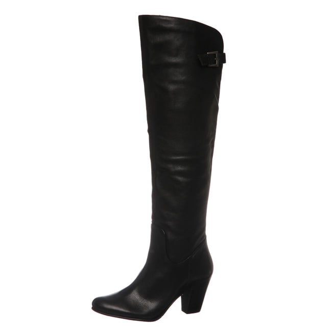 Bronx Women's 'Duke Alan' Black Tall Boots