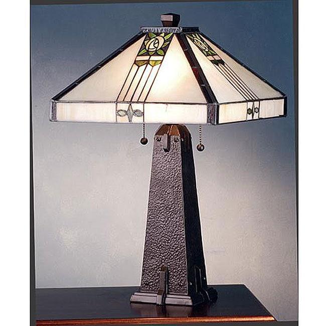 Pasadena Rose Bronze Table Lamp