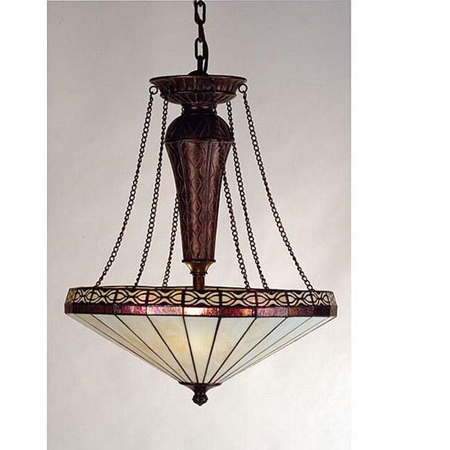 Crestwood 3-light Copper Pendant