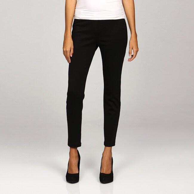 Larry Levine Sportswear Women's Ponte Pants
