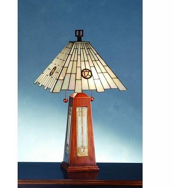 Pendulum Wood Accent Lamp