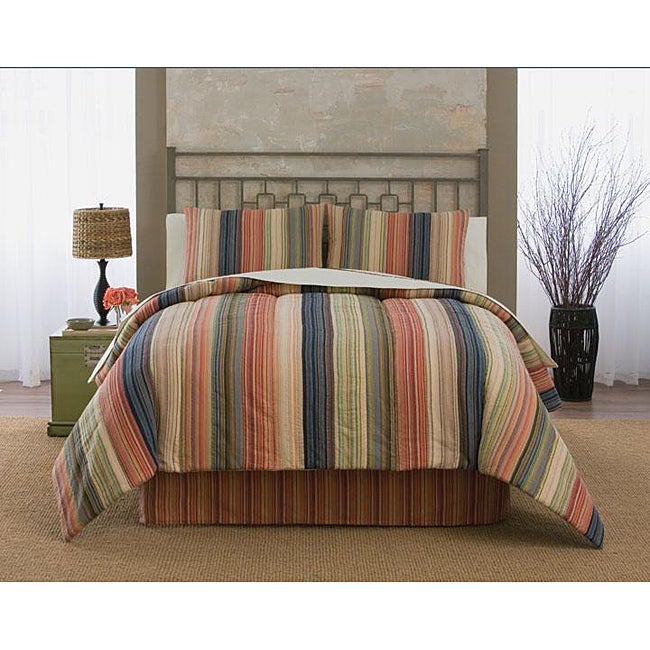 Retro Chic Red Bed in a Bag with Sheet Set