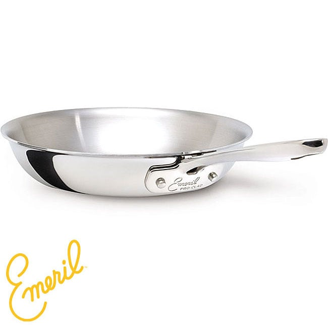 Emeril Pro Clad Stainless Steel 8 Inch Fry Pan Free