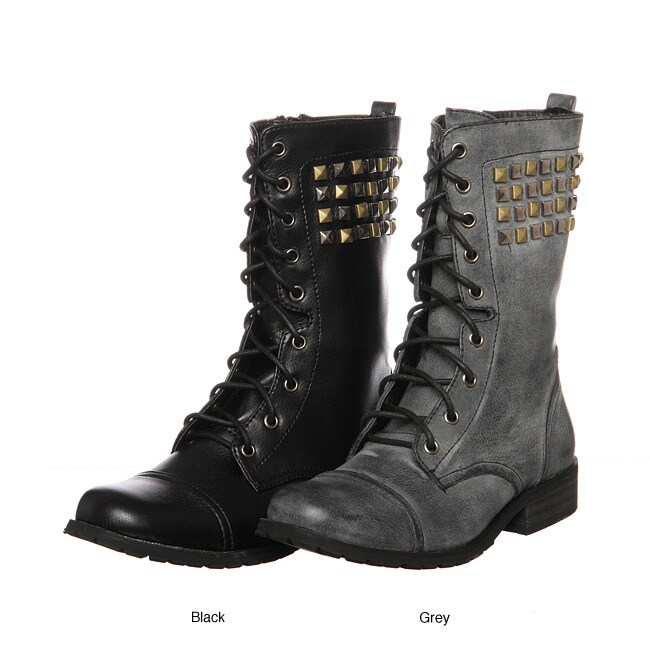 Bucco Women's '17-207' Lace-up Boots